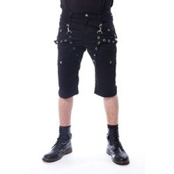 krótkie spodenki POIZEN INDUSTRIES - MUNICH (BLACK)