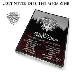 książka CULT NEVER DIES - THE MEGA ZINE - Dayal Patterson, wersja anglojęzyczna