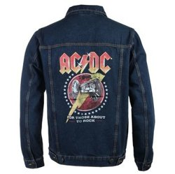 kurtka AC/DC - ABOUT TO ROCK DENIM JACKET