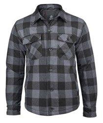 kurtka/koszula LUMBERJACKET black/grey