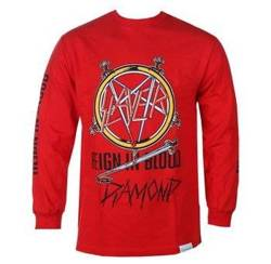longsleeve SLAYER - REIGN IN BLOOD czerwony