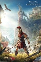 plakat ASSASSINS CREED ODYSSEY - KEYART