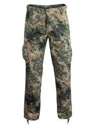"spodnie bojówki US RANGER HOSE TYP BDU "" STRAIGHT CUT "" FLECKTARN"