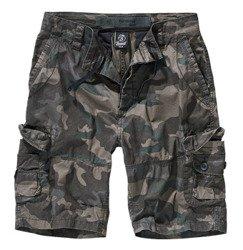 spodnie bojówki krótkie TY SHORTS - DARKCAMO