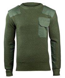sweter WOJSKOWY BW PULLOVER OLIVE
