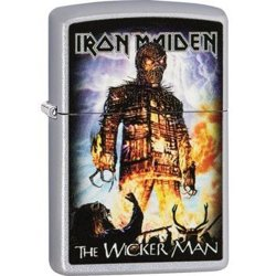 zapalniczka ZIPPO - IRON MAIDEN THE WICKER MAN