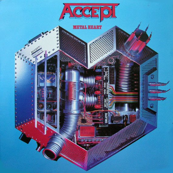 ACCEPT: METAL HEART (CD)