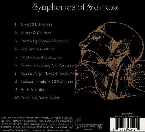 CARCASS: SYMPHONIES OF SICKNESS (CD) DIGIPACK