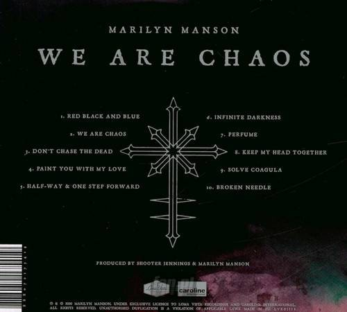 MARILYN MANSON: WE ARE CHAOS (CD)