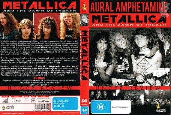 METALLICA: AURAL AMPHETAMINE (DVD)