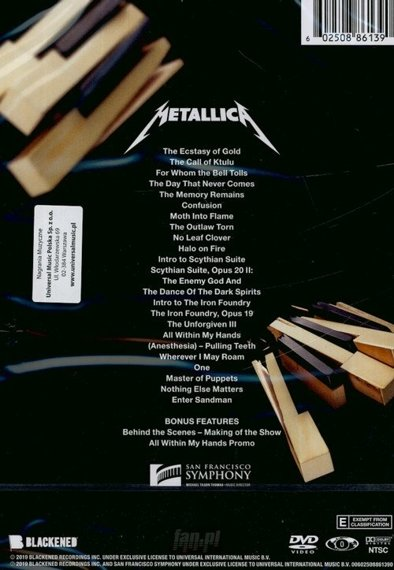 METALLICA: S&M2 METALLICA & SAN FRANCISCO SYMPHONY (DVD)