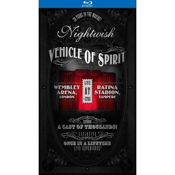 NIGHTWISH: VEHICLE OF SPIRIT (2BLU-RAY)
