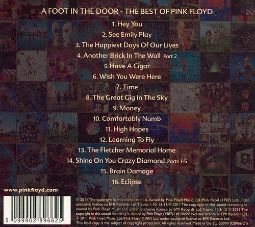 PINK FLOYD: A FOOT IN THE DOOR - THE BEST OF PINK FLOYD (CD)
