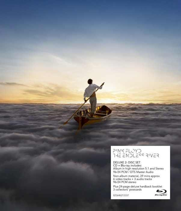 PINK FLOYD: THE ENDLESS RIVER (CD+BLU-RAY) DELUXE