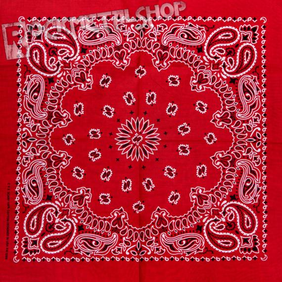bandana RED/BLACK/WHITE