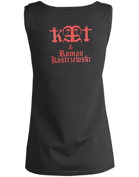 bluzka damska KAT & ROMAN KOSTRZEWSKI - PENTAGRAM  na ramiączkach
