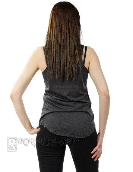 bluzka damska LACE SKULL na ramiączkach