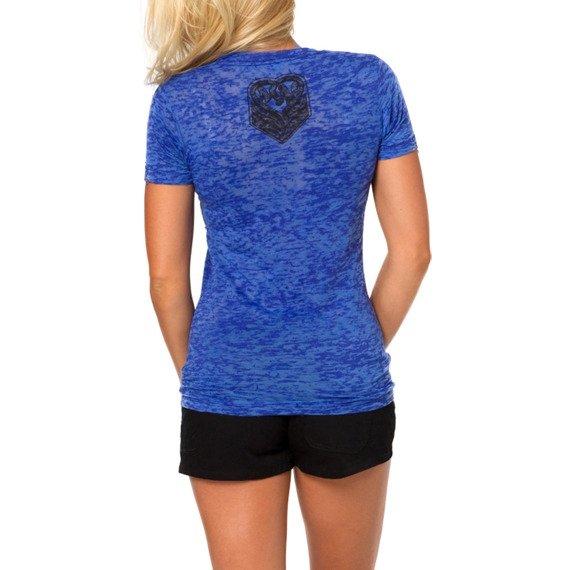 bluzka damska METAL MULISHA - RIDE ON niebieska