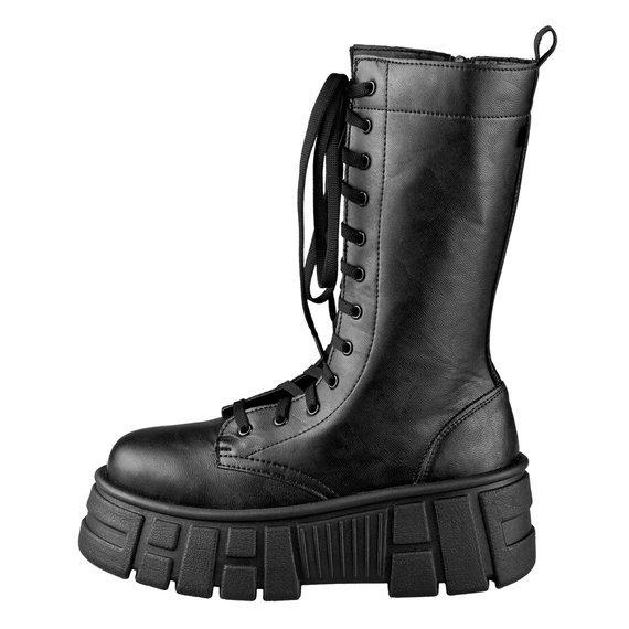 buty damskie ALTERCORE czarne (IBERIS VEGAN BLACK)