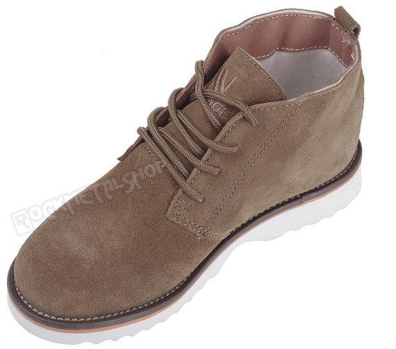 buty zamszowe NEW AGE - BEŻOWE / BEIGE (WS1272)