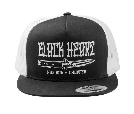 czapka BLACK HEART - KUDLA