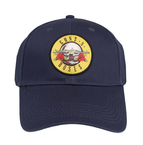 czapka GUNS N' ROSES - CIRCLE LOGO (NAVY BLUE)