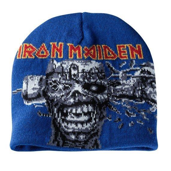 czapka IRON MAIDEN - CAN I PLAY WITH MADNESS, zimowa