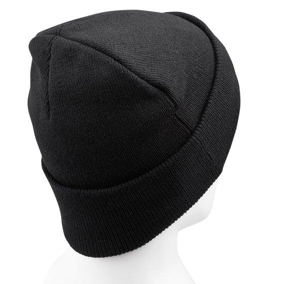 czapka METALLICA  - BLACK CUFF, zimowa