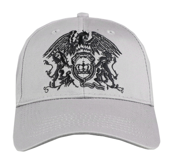 czapka QUEEN - BLACK CLASSIC CREST