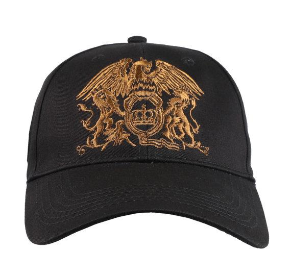 czapka QUEEN - GOLD CLASSIC CREST