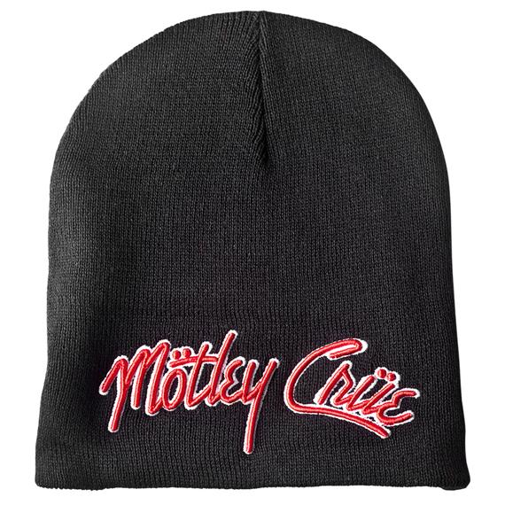 czapka zimowa MOTLEY CRUE - LOGO