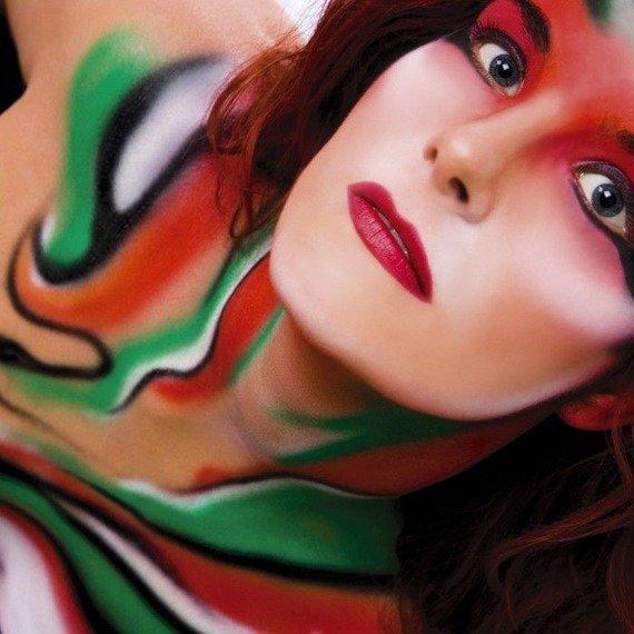 farba do twarzy i ciała WET COVER COLOUR - RÓŻOWY (PINK)