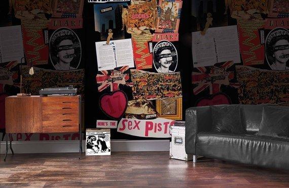 fototapeta SEX PISTOLS - COVERS MONTAGE