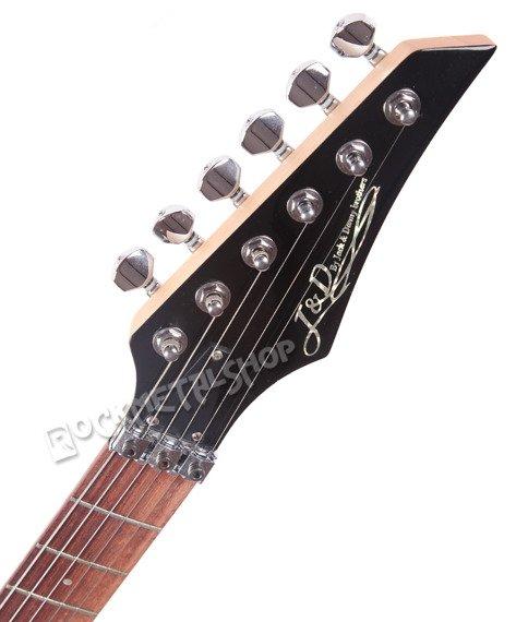 gitara elektryczna ze stroikiem J&D BROTHERS Black 907T BK