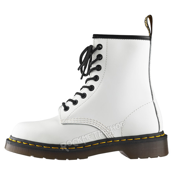 glany DR. MARTENS - DM 1460 WHITE SMOOTH (DM10072100)