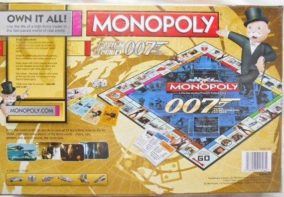 gra planszowa JAMES BOND 007 MONOPOLY, English Version