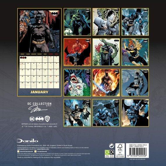 kalendarz BATMAN 2021