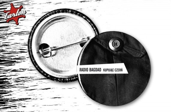 kapsel RADIO BAGDAD - KUPUJĄC CZERŃ - POCKET