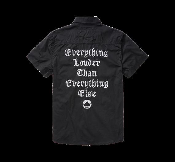 koszula MOTORHEAD SHIRT - BLACK