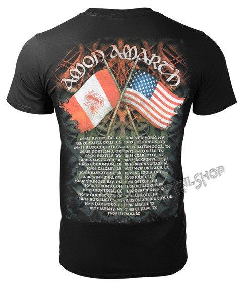 koszulka AMON AMARTH - DOTG TOUR DATES 2014