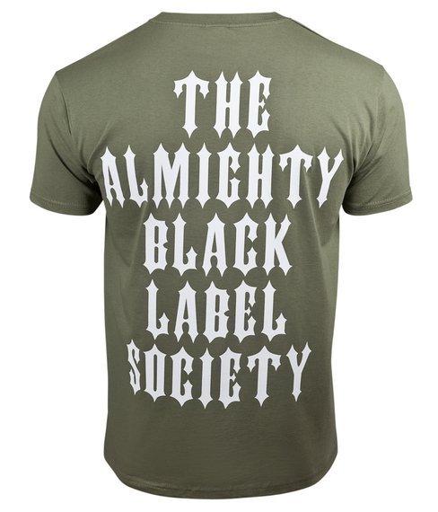 koszulka BLACK LABEL SOCIETY - THE ALMIGHTY, olive