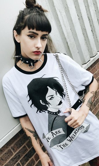 koszulka DISTURBIA - NANCY RINGER, unisex