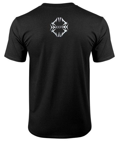 koszulka HUNTER - XXXV czarno-srebrna