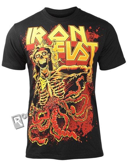 koszulka IRON FIST - NUMBER OF THE BEAST (BLACK)