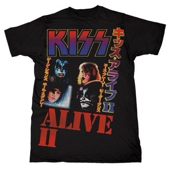 koszulka KISS - ALIVE II JAPAN