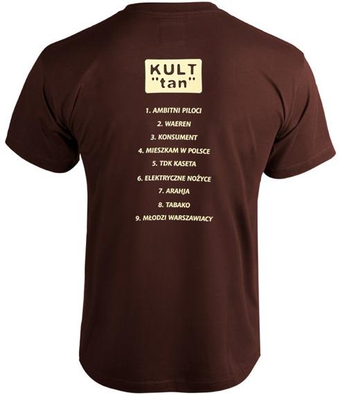 koszulka KULT - TAN brązowa