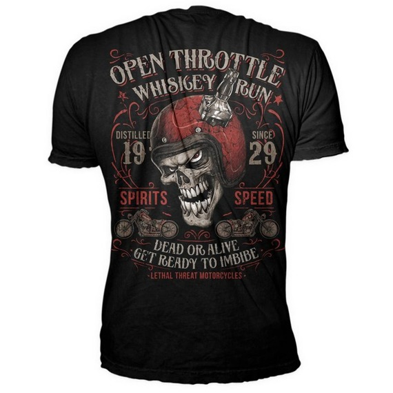 koszulka LETHAL THREAT - OPEN THROTTLE