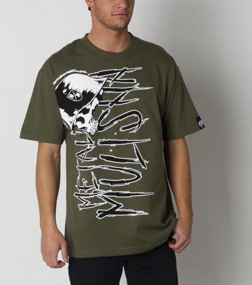 koszulka METAL MULISHA - EVETS oliwkowa