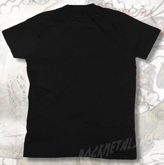 koszulka MIAMI INK - BLACK FLYING SKULL