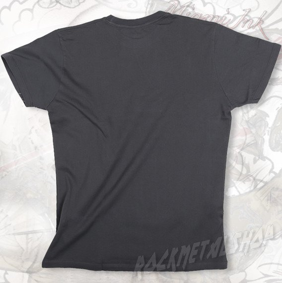 koszulka MIAMI INK - CROSS & HAWKS WHITE LOGO